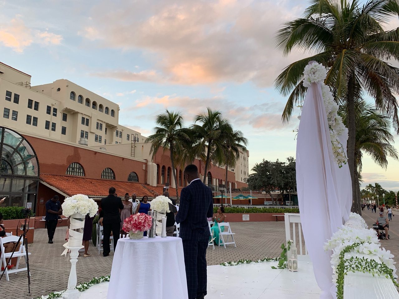 outdoor wedding venue in fort lauderdale