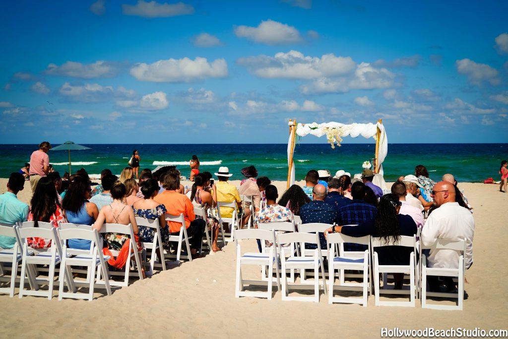 beach wedding in fort lauderdale