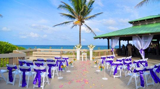 south florida beach wedding location